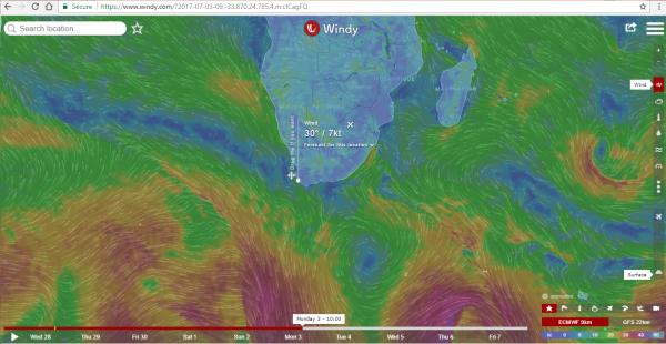 Best wind reports – Michelle Sky Hayward